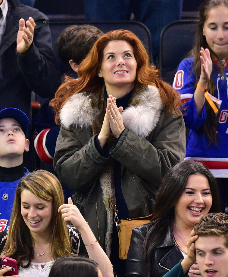 April 4, 2015: New York Rangers vs. New Jersey Devils at Madison Square Garden in New York City
