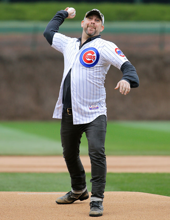 April 8 at Wrigley Field in Chicago