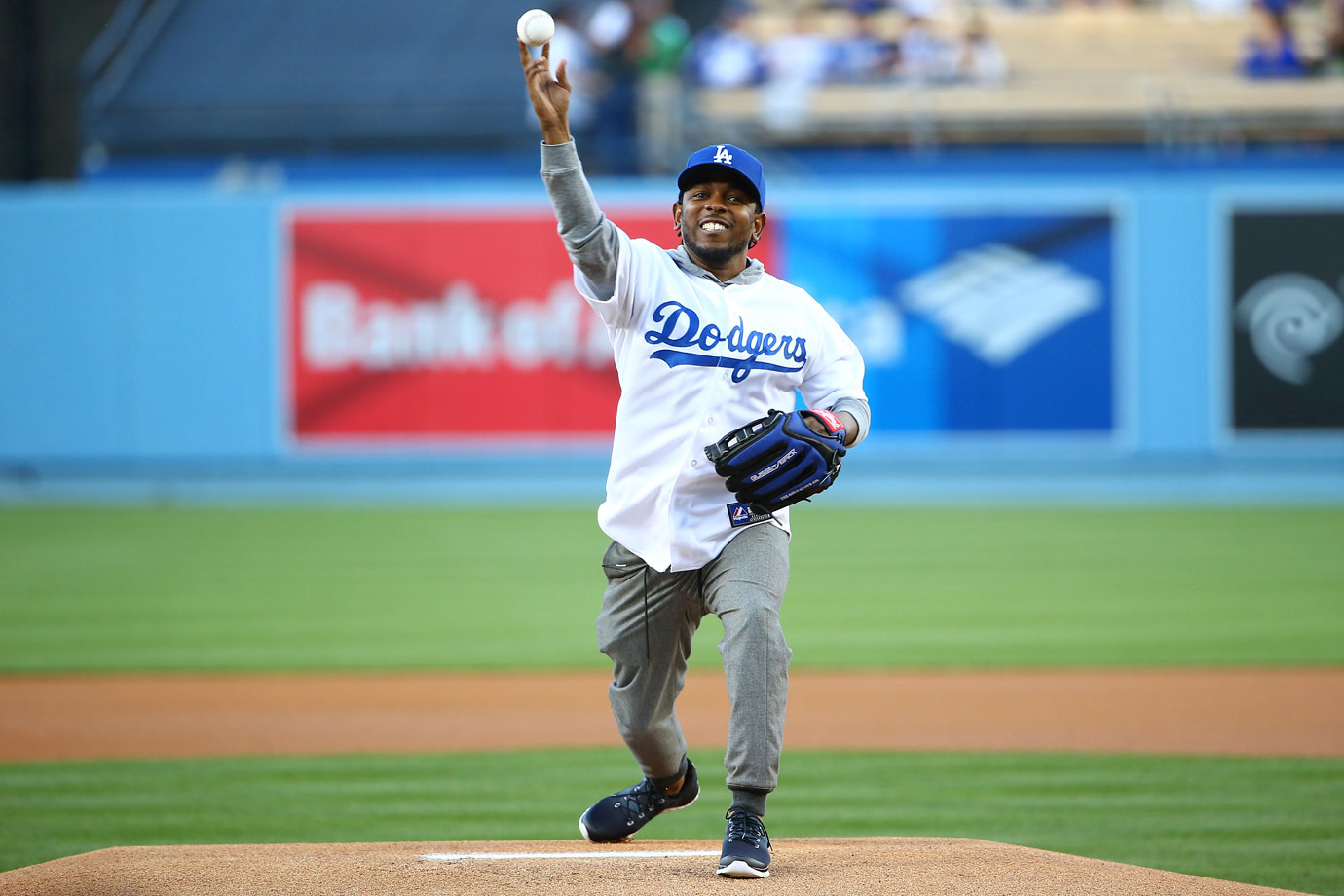 April 27 at Dodger Stadium in Los Angeles