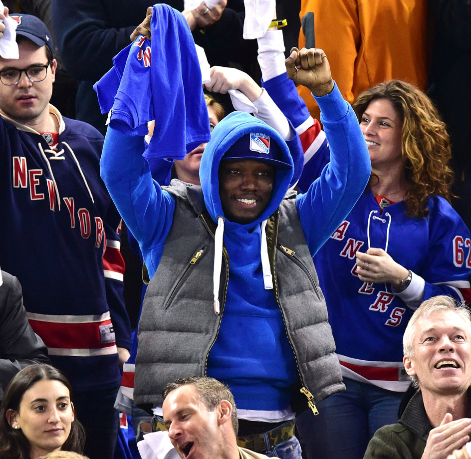 April 30, 2015: New York Rangers vs. Washington Capitals at Madison Square Garden in New York City — Eastern Conference Semifinals, Game 1