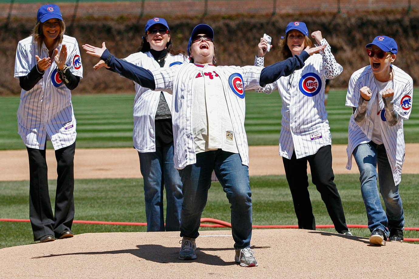 May 1 at Wrigley Field in Chicago