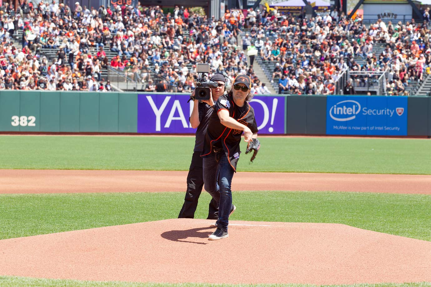 May 2 at AT&T Park in San Francisco