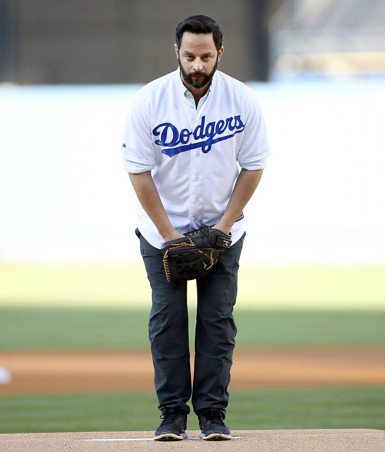 May 2 at Dodger Stadium in Los Angeles