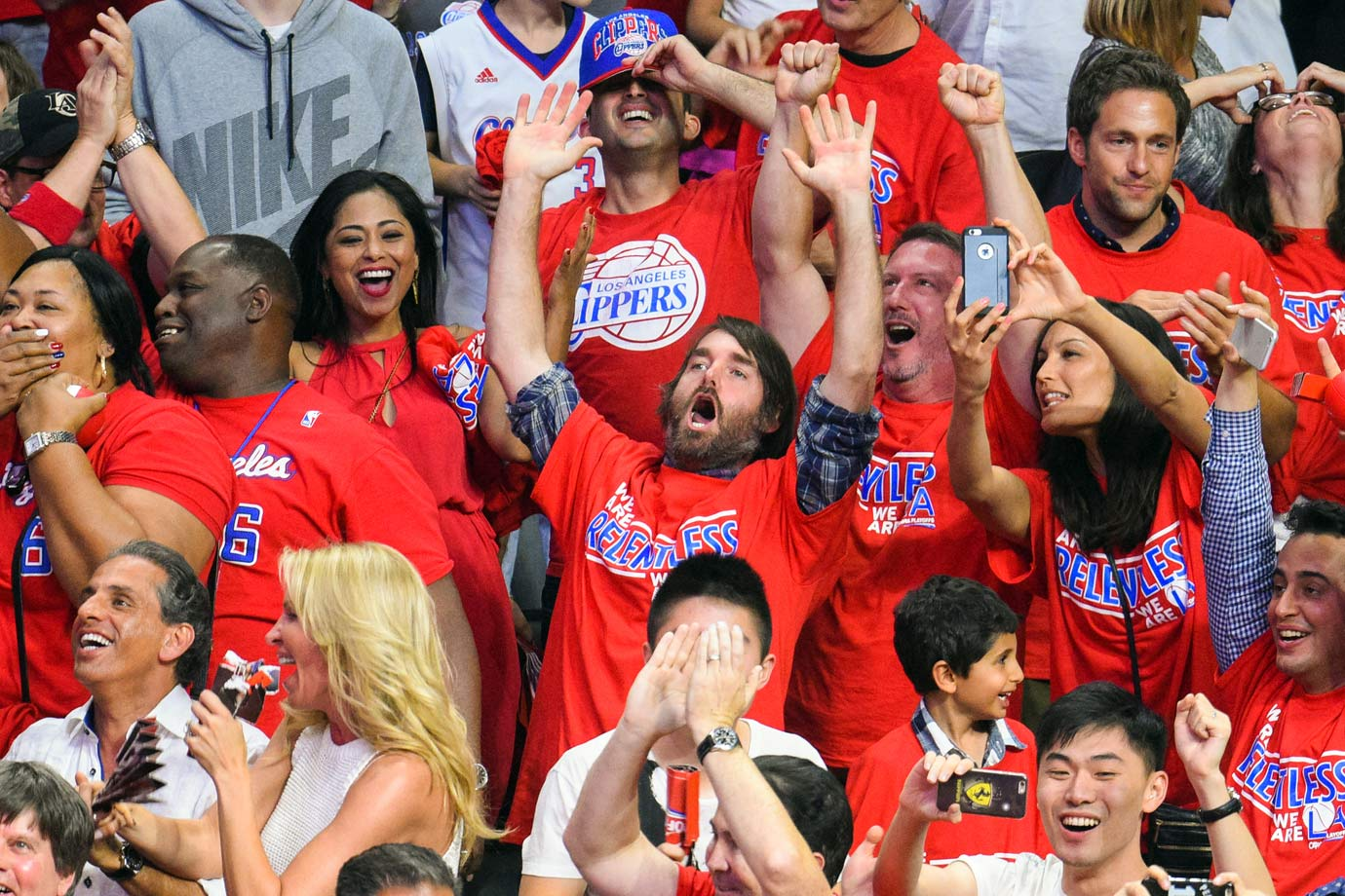 May 2, 2015: Los Angeles Clippers vs. San Antonio Spurs at Staples Center in Los Angeles — Western Conference Quarterfinals, Game 7
