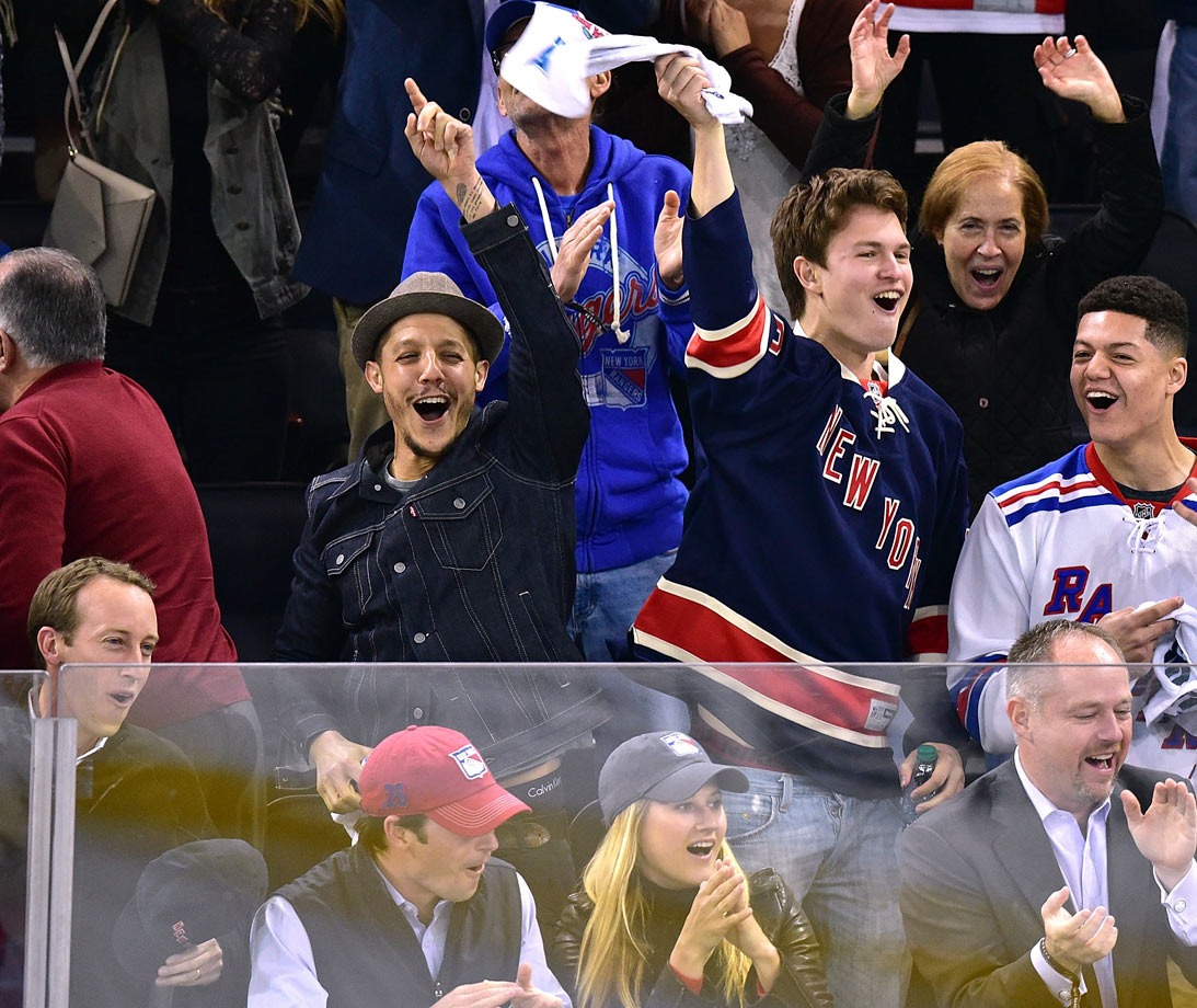 May 13, 2015: New York Rangers vs. Washington Capitals at Madison Square Garden in New York City — Eastern Conference Semifinals, Game 7