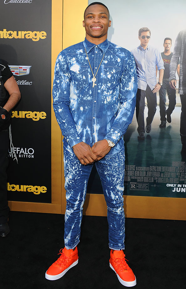 Russell Westbrook: NBA star wears unique outfit before ...