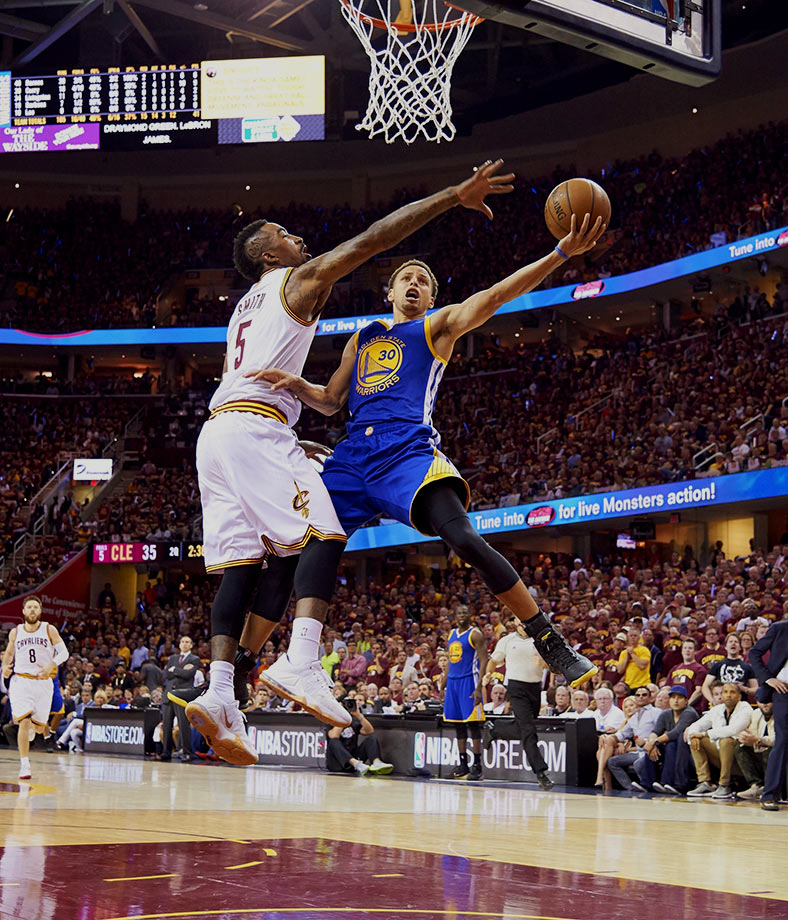 June 16, 2015 — NBA Finals Game 6 — Golden State Warriors vs. Cleveland Cavaliers