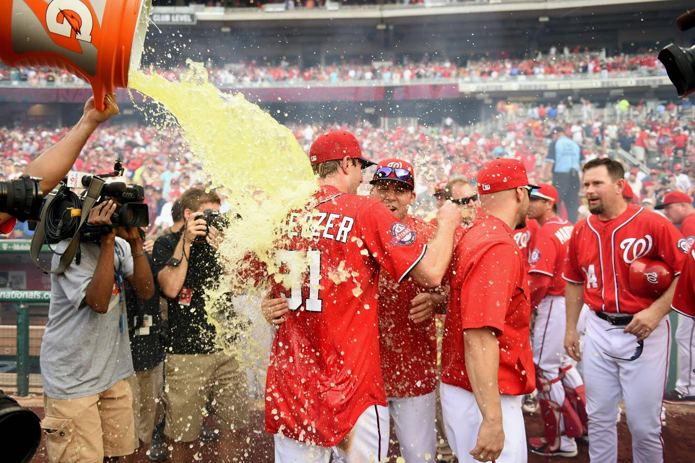 June 20, 2015 — Nationals over Pirates (no-hitter)
