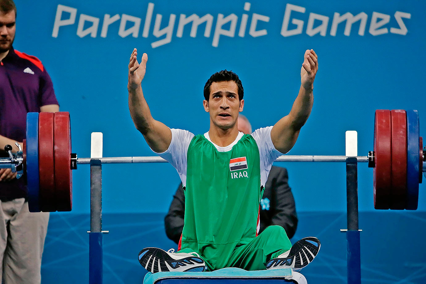 Paralympic powerlifter Hussein Juboori, 33, of Iraq was suspended for four years for a doping violation.