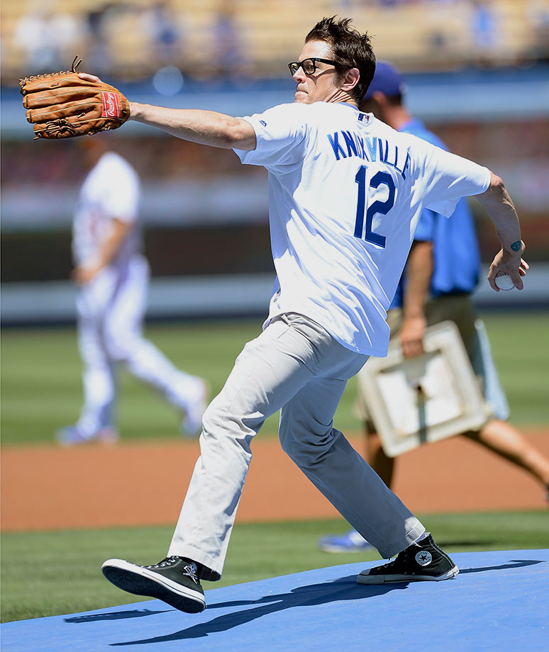 August 14 at Dodger Stadium in Los Angeles