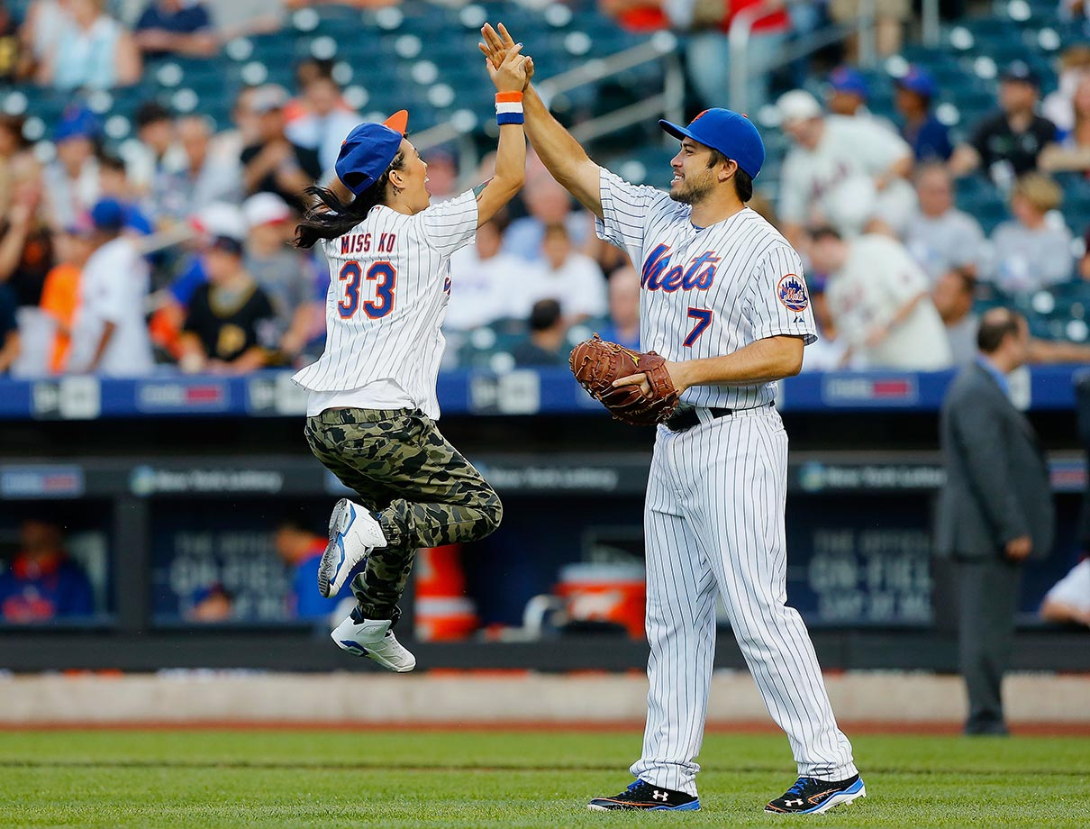 August 14 at Citi Field in New York