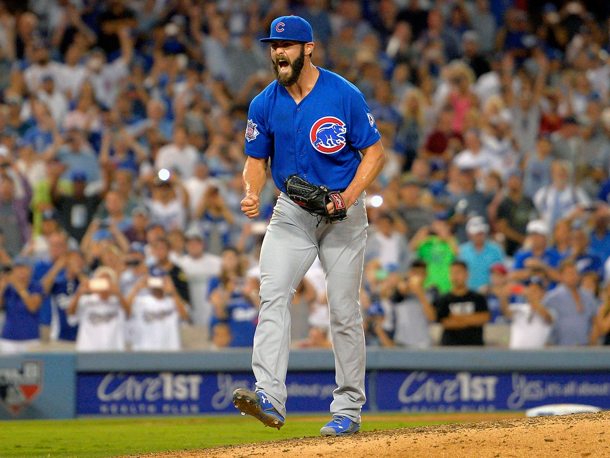 After getting traded from the Orioles last season, Jake Arrieta didn't seem to be on track for great things the rest of his career. But he beat out two Dodgers aces (Clayton Kershaw and Zack Greinke) for the National League Cy Young Award, after posting a phenomenal 0.75 ERA in the second half of the season, which included throwing a no-hitter. He led the Chicago Cubs to the playoffs, and the 29-year-old serves as a veteran leader on a team stacked with superstar youngsters that include NL Rookie of the Year Kris Bryant, Anthony Rizzo, Addison Russell, Kyle Schwarber, Jorge Soler and now, Jason Heyward. The Cubs haven't won the World Series since 1908, and they haven't been to the World Series since 1945, but things are looking up on the North Side.