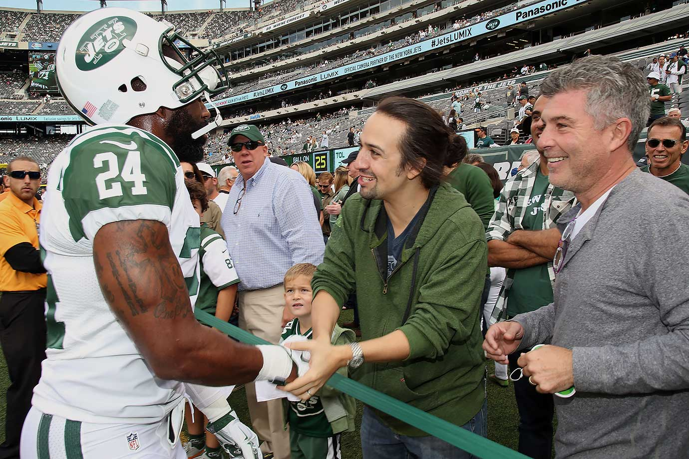 New York Jets vs. Philadelphia Eagles on Sept. 27, 2015 at MetLife Stadium in East Rutherford, N.J.
