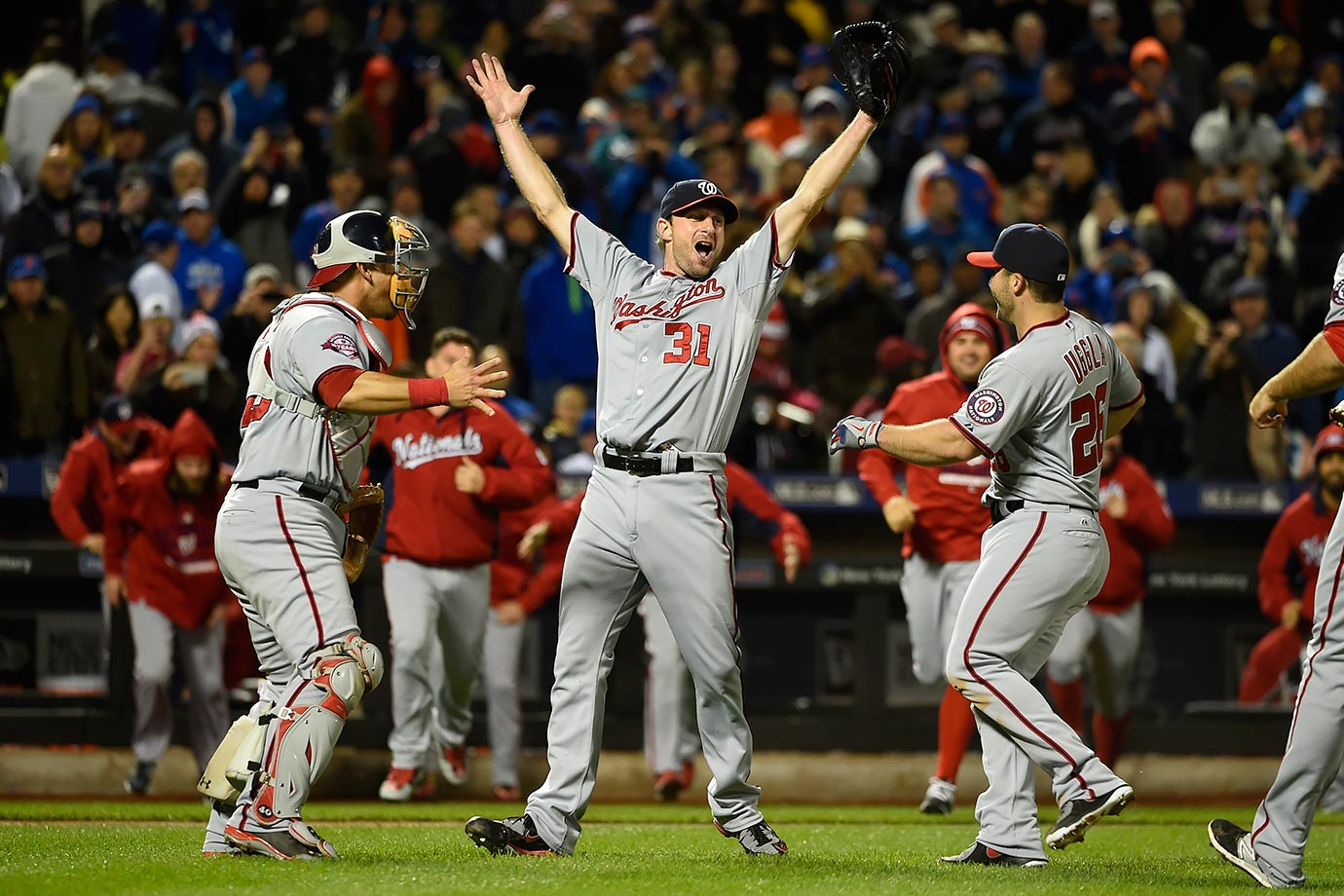 For just the sixth time in Major League history, Max Scherzer threw a second no-hitter in the same season, while also striking out 17 Mets. He joined Nolan Ryan and Roy Halladay as the only pitchers with two no-no's in the same season over the past 50 years.