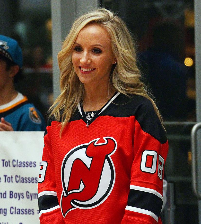 New Jersey Devils vs. San Jose Sharks on October 16, 2015 at Prudential Center in Newark, N.J.