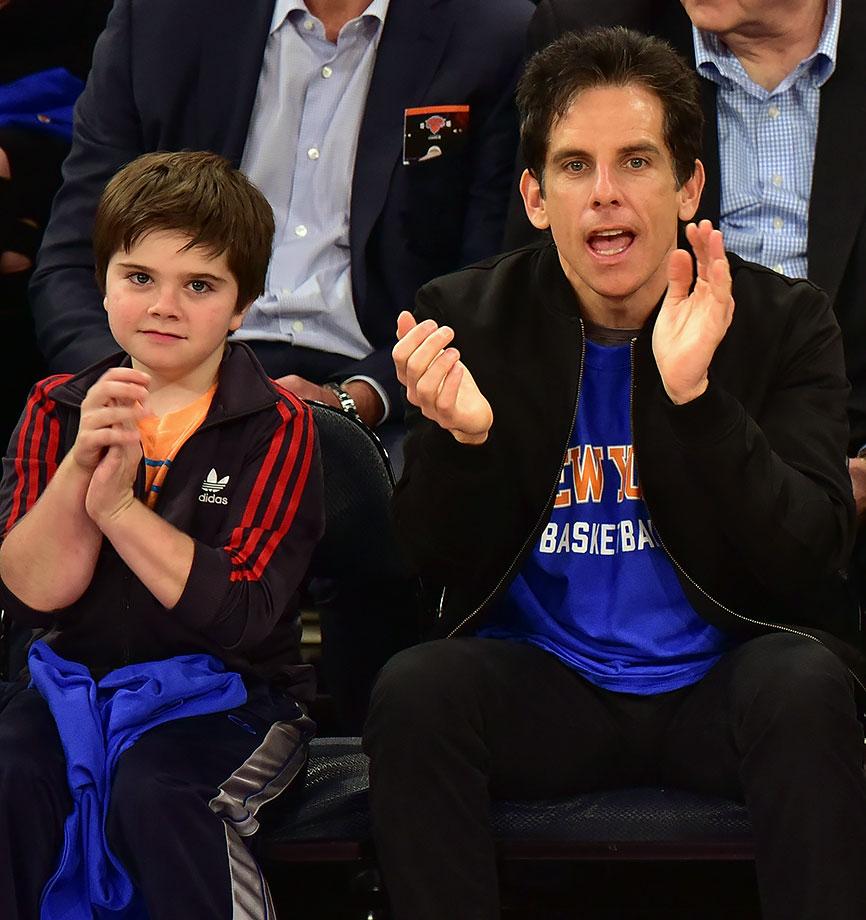 Oct. 29, 2015 — Knicks vs. Hawks at Madison Square Garden in New York City