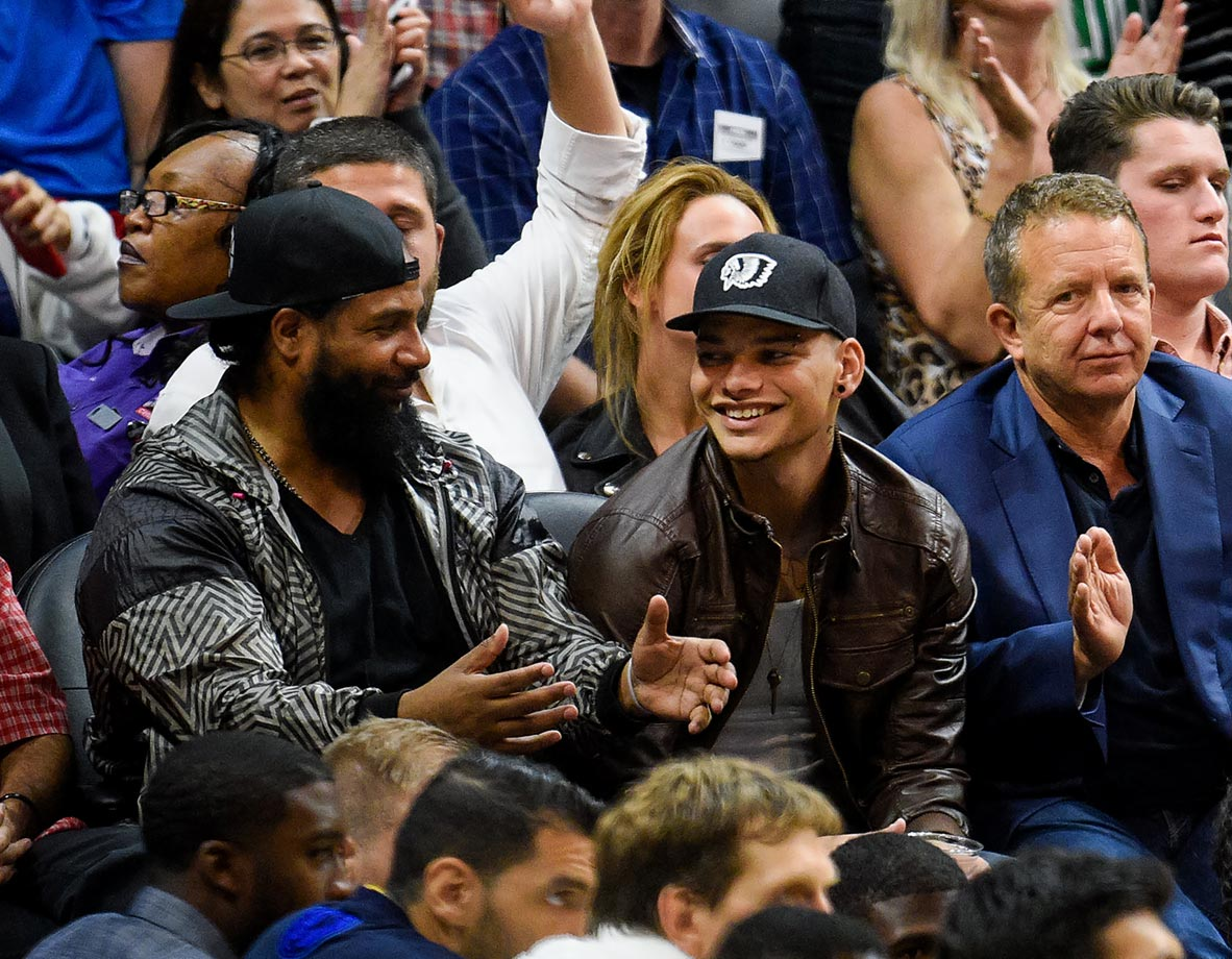 Oct. 29, 2015 — Clippers vs. Mavericks at Staples Center in Los Angeles