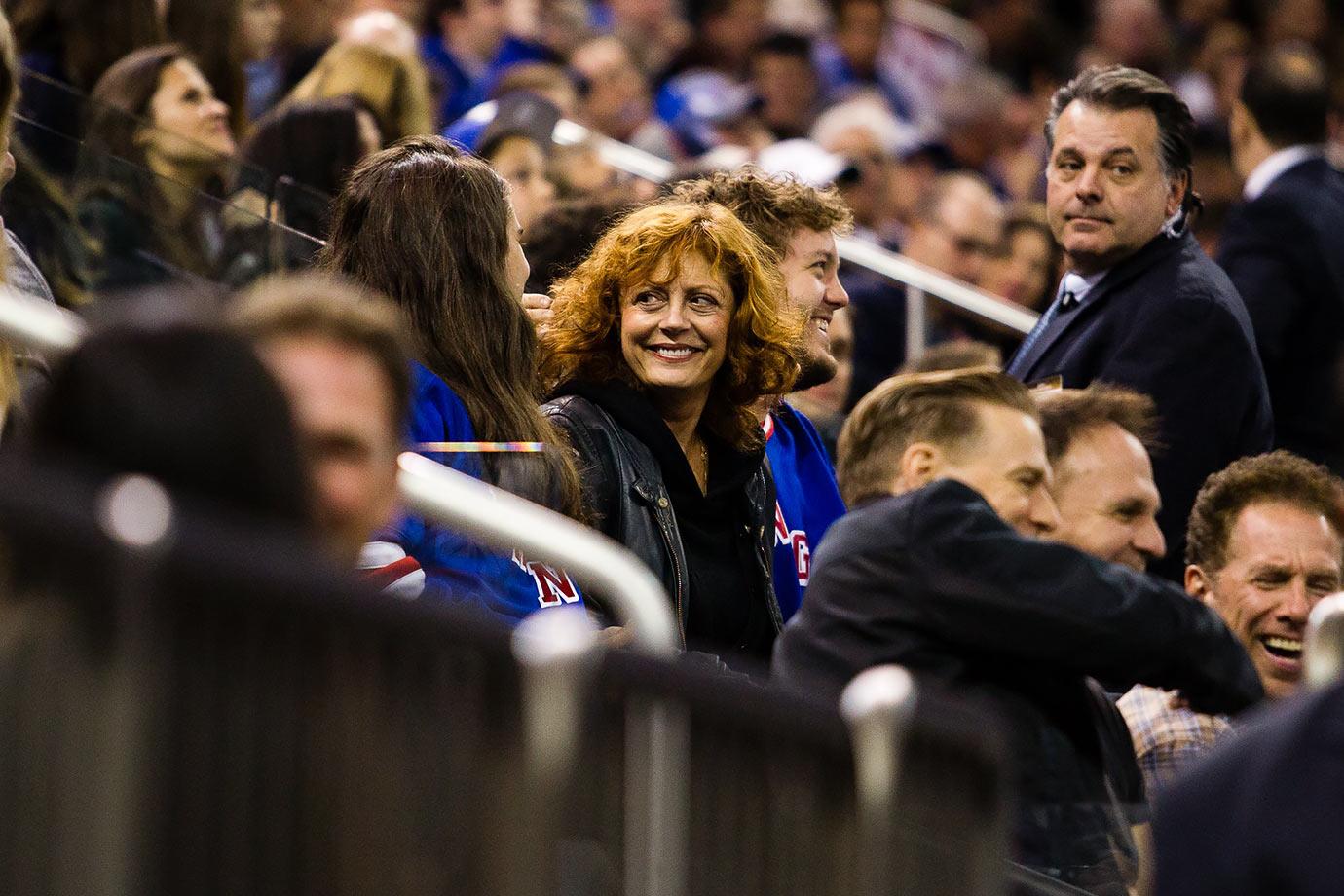 New York Rangers vs. Washington Capitals on November 3, 2015 at Madison Square Garden in New York City.