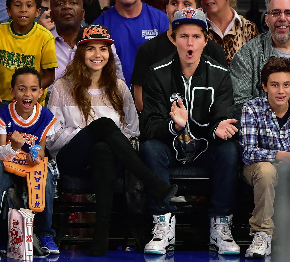 Nov. 6, 2015 — Knicks vs. Bucks at Madison Square Garden in New York City