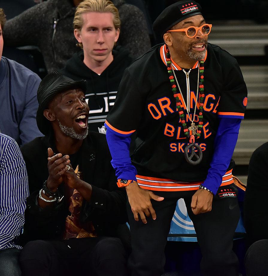 Nov. 8, 2015 — Knicks vs. Lakers at Madison Square Garden in New York City