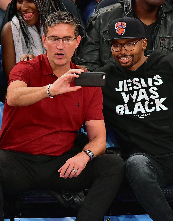 Nov. 15, 2015 — Knicks vs. Pelicans at Madison Square Garden in New York City