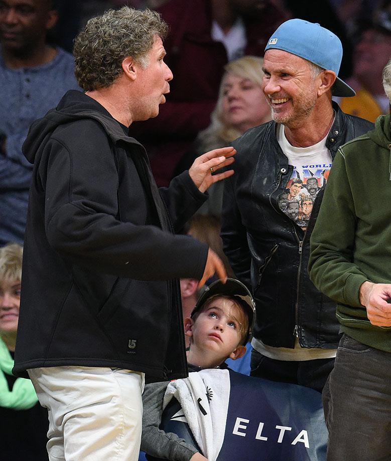 Nov. 15, 2015 — Lakers vs. Pistons at Staples Center in Los Angeles