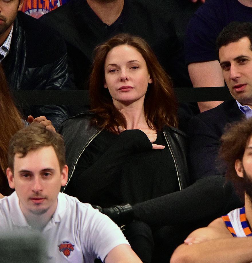 Nov. 17, 2015 — Knicks vs. Hornets at Madison Square Garden in New York City