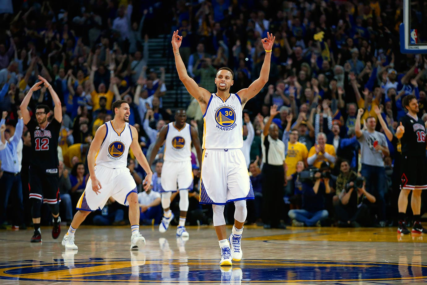 Nov. 21, 2015 — Golden State Warriors vs. Chicago Bulls