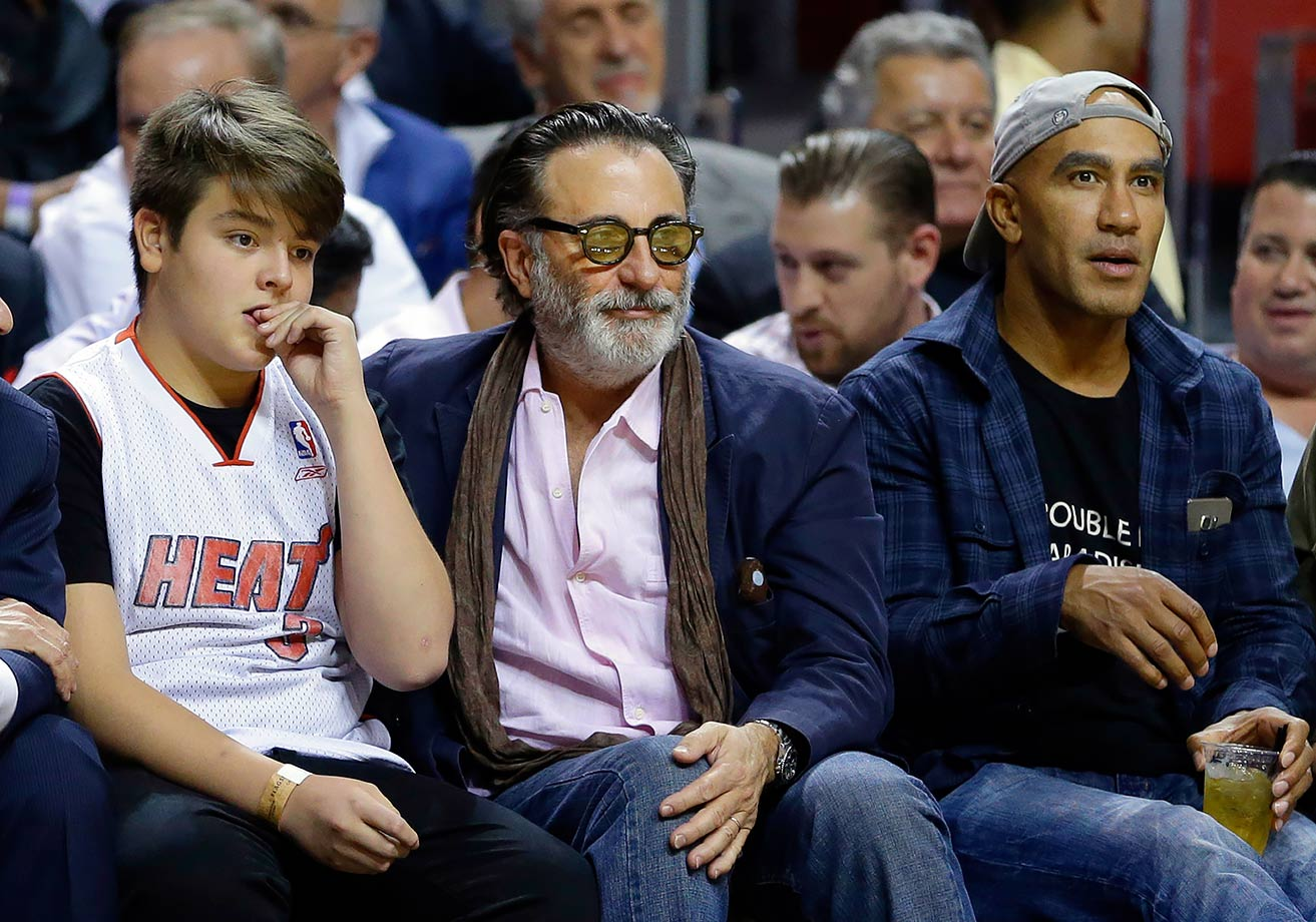 Nov. 22, 2015 — Heat vs. Knicks at American Airlines Arena in Miami