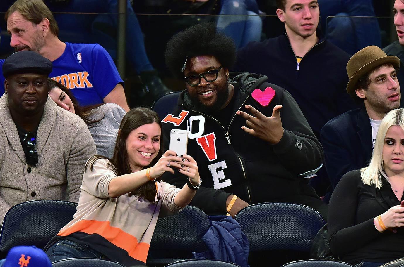 Nov. 27, 2015 — Knicks vs. Heat at Madison Square Garden in New York City
