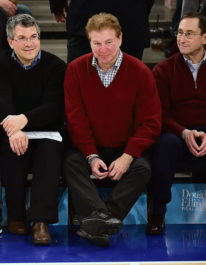 Nov. 29, 2015 — Knicks vs. Rockets at Madison Square Garden in New York City