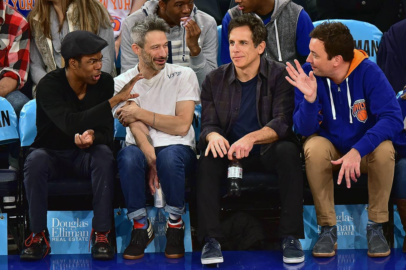 Dec. 2, 2015 — Knicks vs. 76ers at Madison Square Garden in New York City