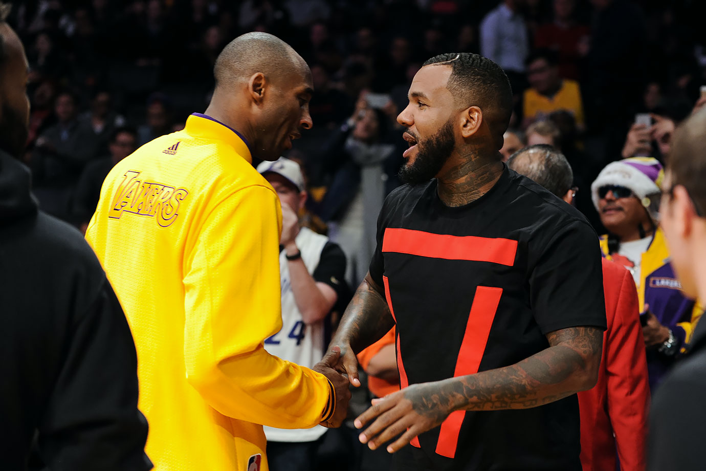 Dec. 17, 2015 — Lakers vs. Rockets at Staples Center in Los Angeles