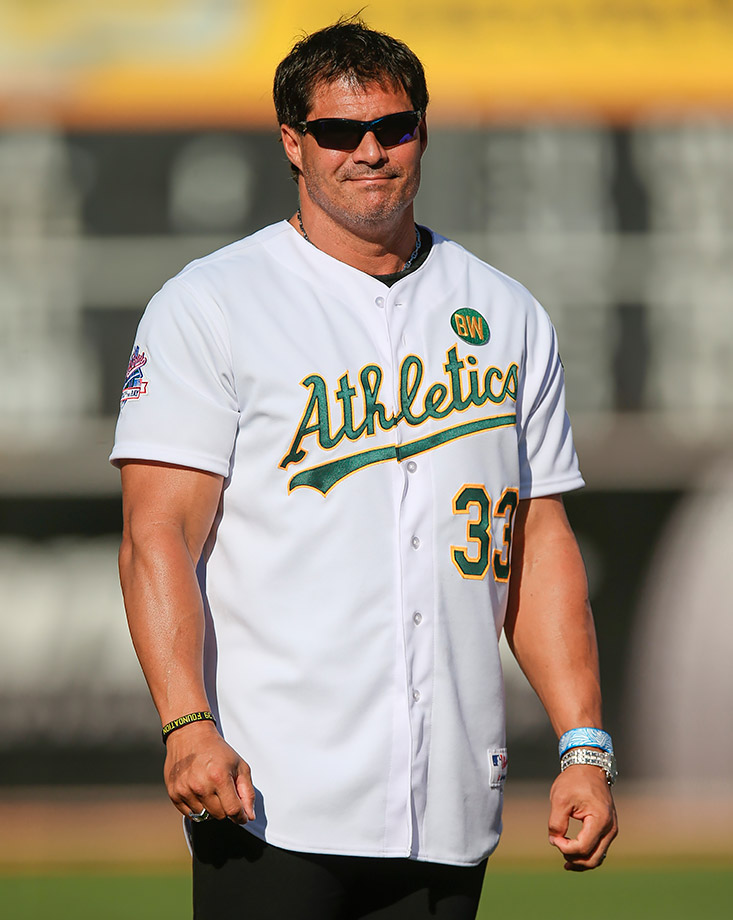 Jose Canseco tweeted a plan he devised to create an ocean on Mars by nuking the planet's polar ice caps.