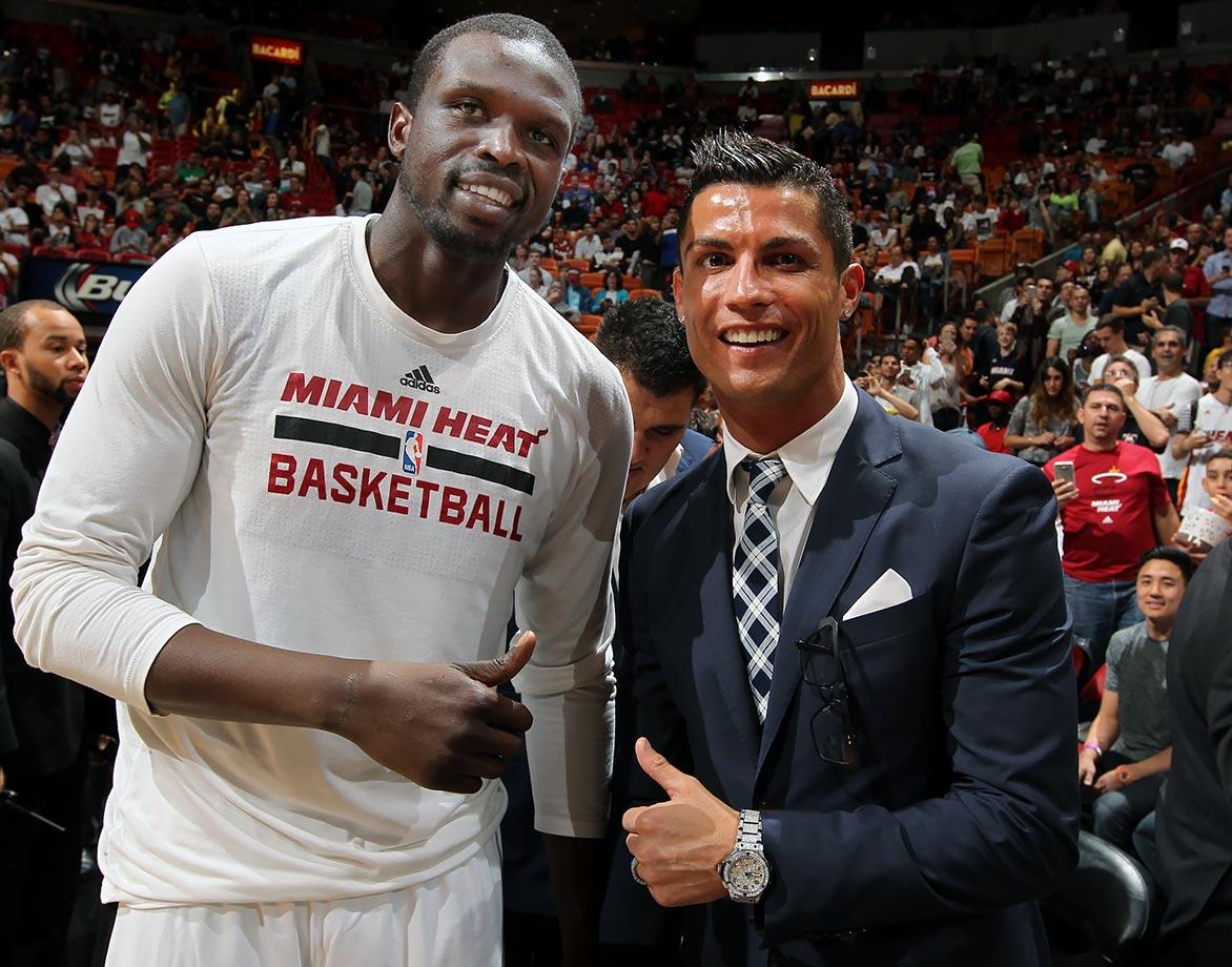 Dec. 22, 2015 — Heat vs. Pistons at American Airlines Arena in Miami