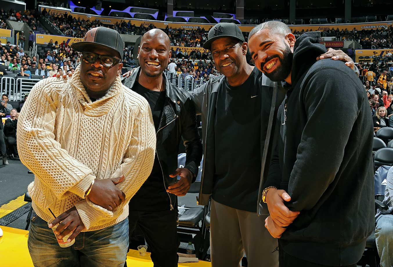 Dec. 23, 2015 — Lakers vs. Thunder at Staples Center in Los Angeles