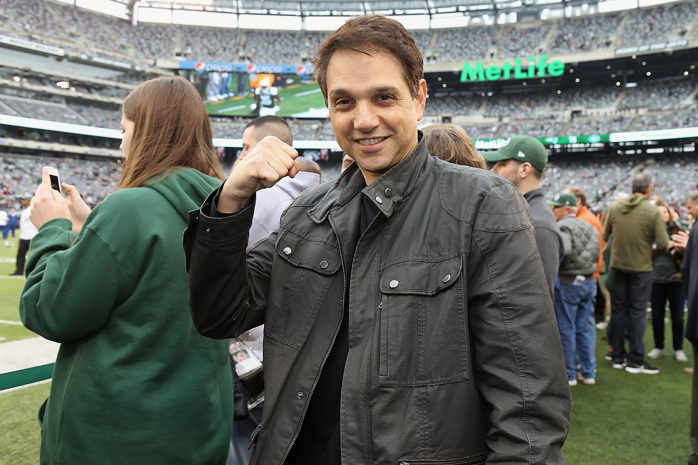 New York Jets vs. New England Patriots on Dec. 27, 2015 at MetLife Stadium in East Rutherford, N.J.