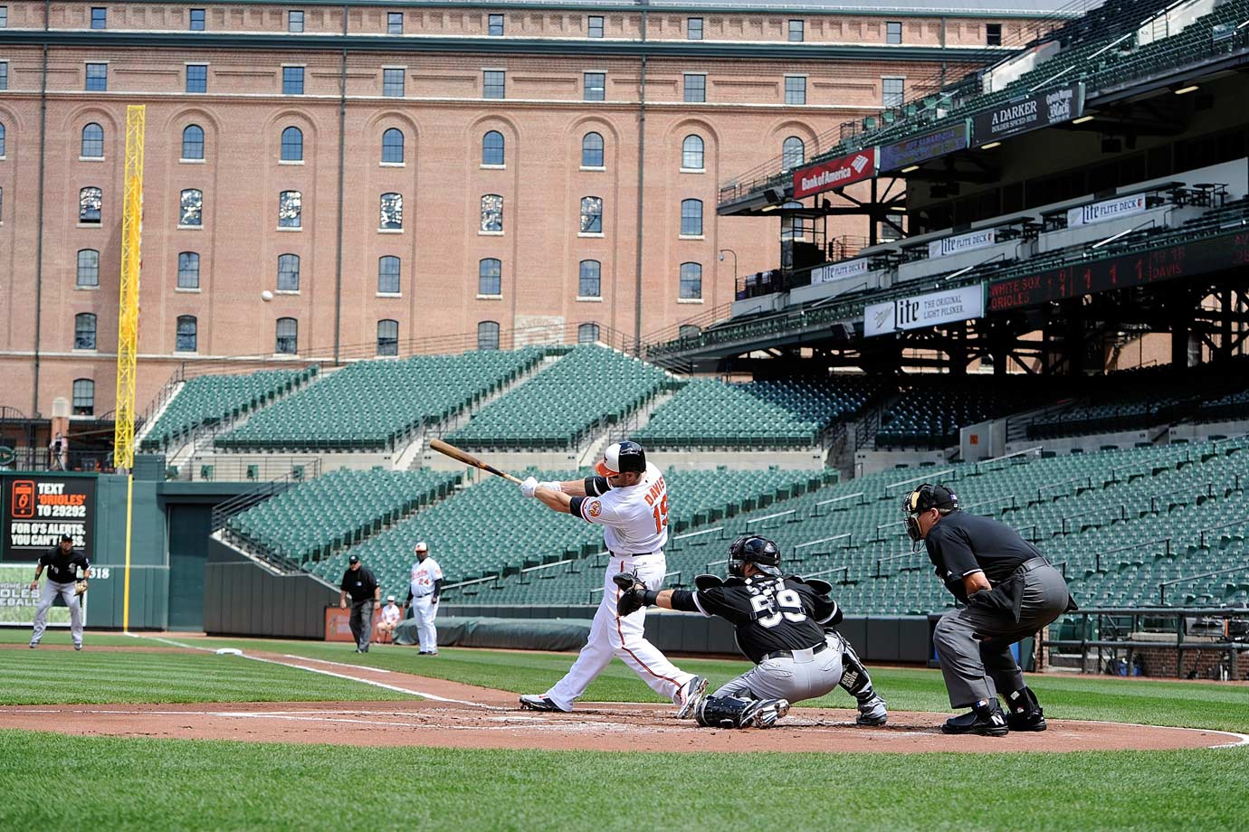 Scenes from the Closed-Door Game at Camden Yards & Scenes from the Closed Door Game at Camden Yards | SI.com