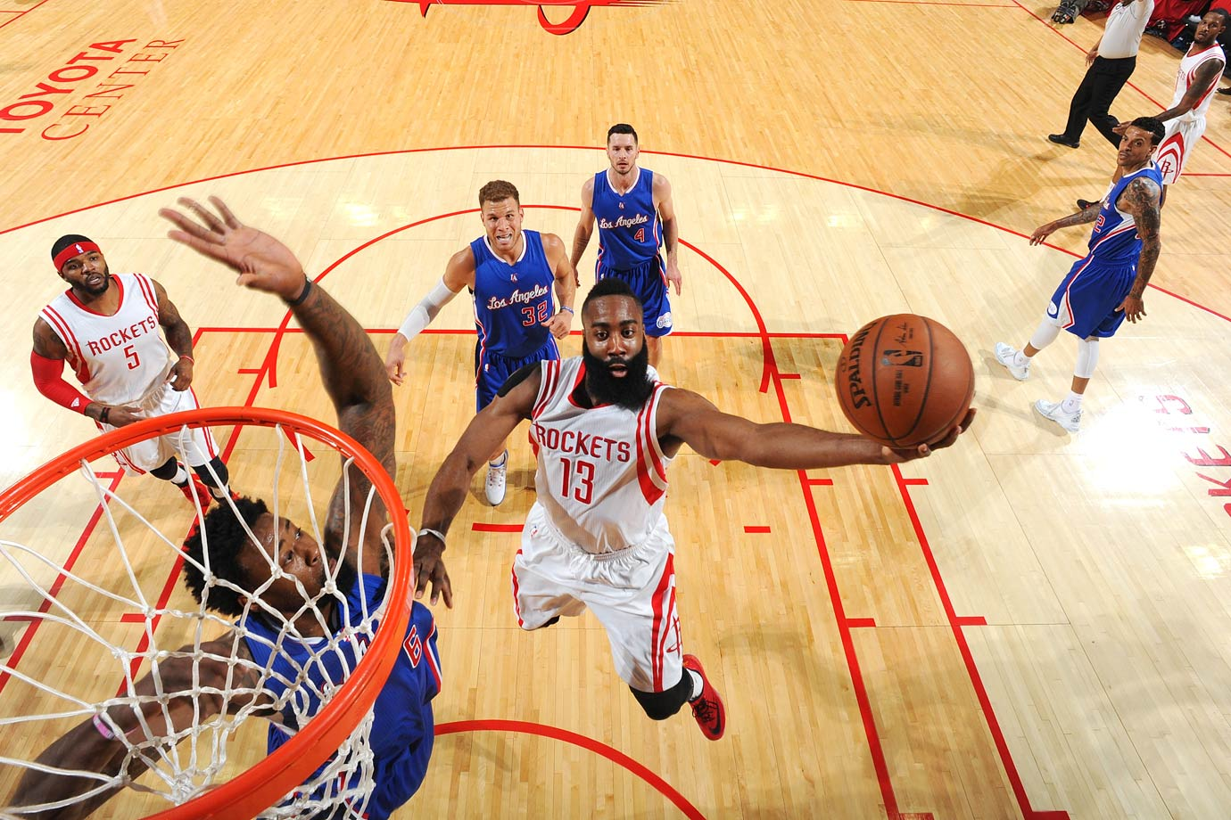 Houston overcame a 19-point third-quarter deficit in Game 6, and James Harden scored 31 points in the Rockets' 113-100 Game 7 victory over the Clippers, sending them to the conference finals for the first time since 1997.