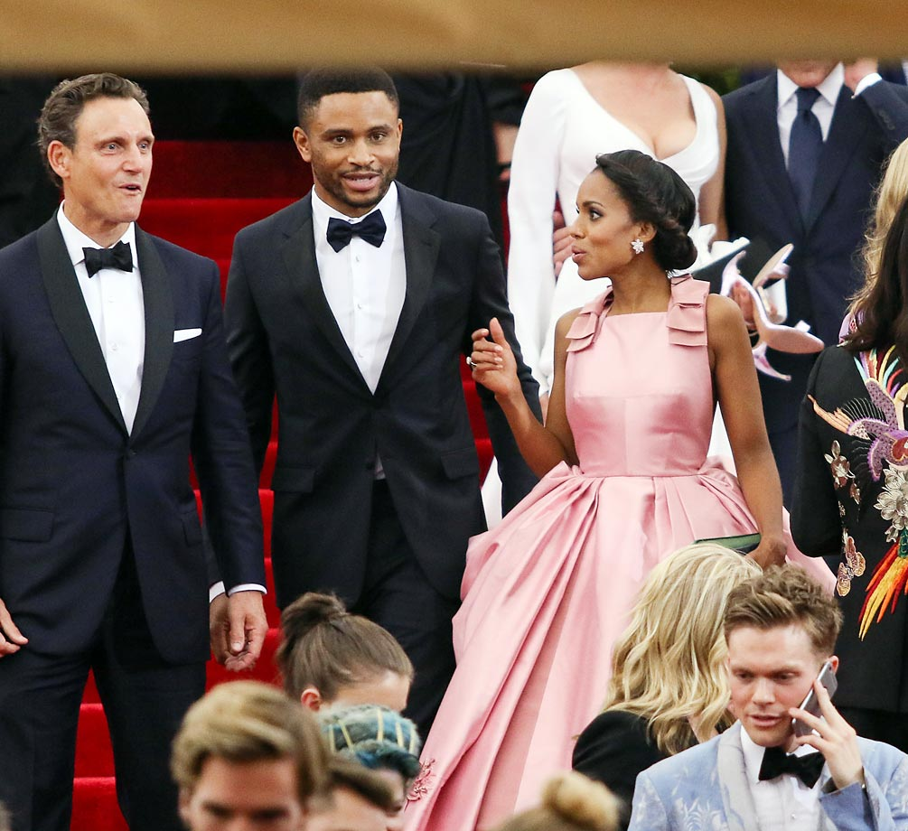 Tony Goldwyn, Nnamdi Asomugha and Kerry Washington.