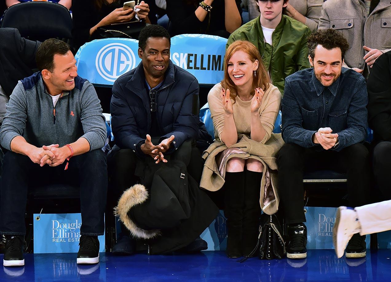 Jan. 3, 2016 — Knicks vs. Hawks at Madison Square Garden in New York City