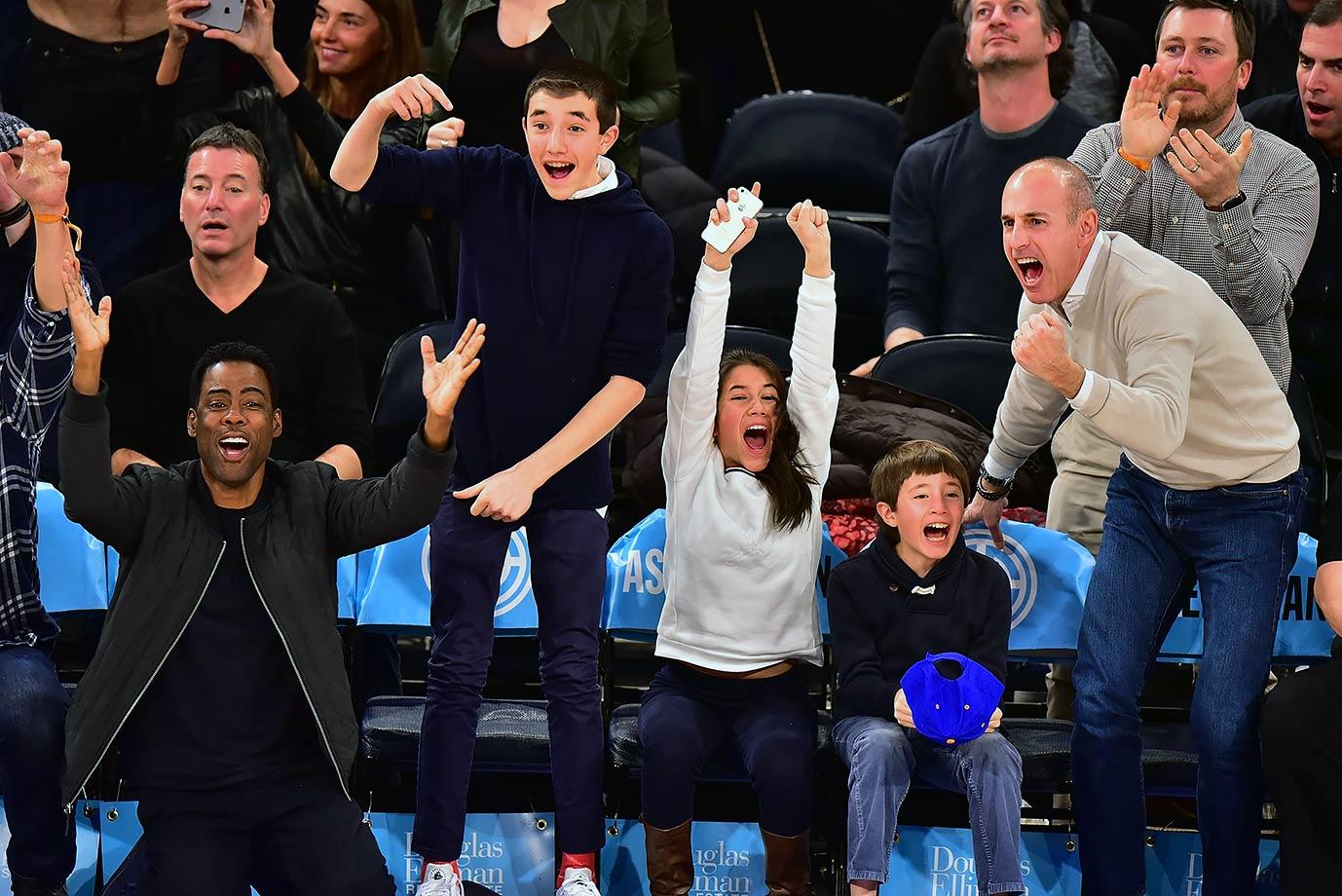 Jan. 18, 2016 — Knicks vs. 76ers at Madison Square Garden in New York City