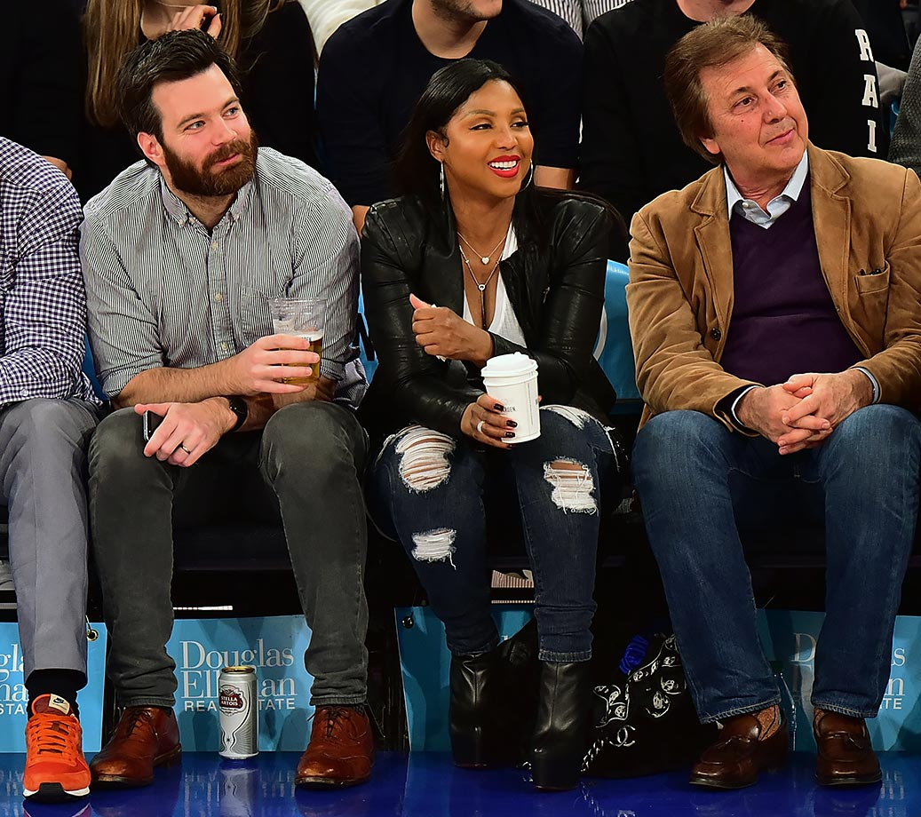 Jan. 20, 2016 — Knicks vs. Jazz at Madison Square Garden in New York City