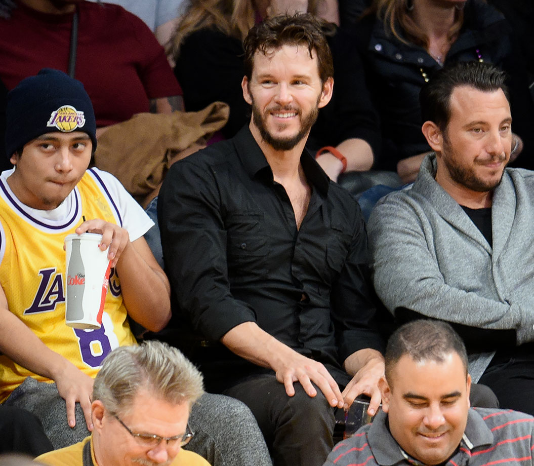 Jan. 22, 2016 — Lakers vs. Spurs at Staples Center in Los Angeles