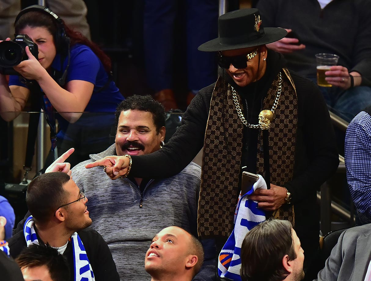Jan. 22, 2016 — Knicks vs. Clippers at Madison Square Garden in New York City