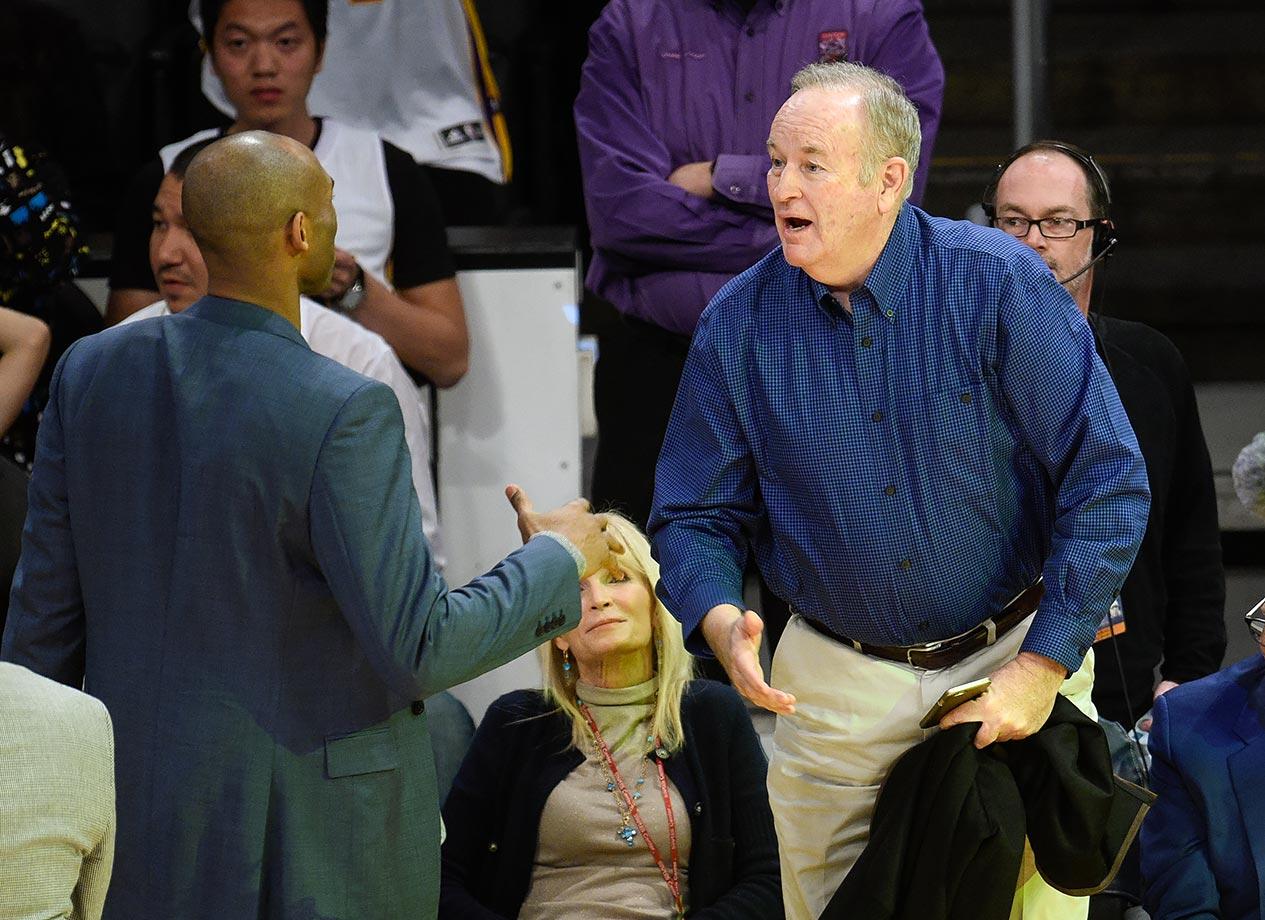 Jan. 26, 2016 — Lakers vs. Mavericks at Staples Center in Los Angeles