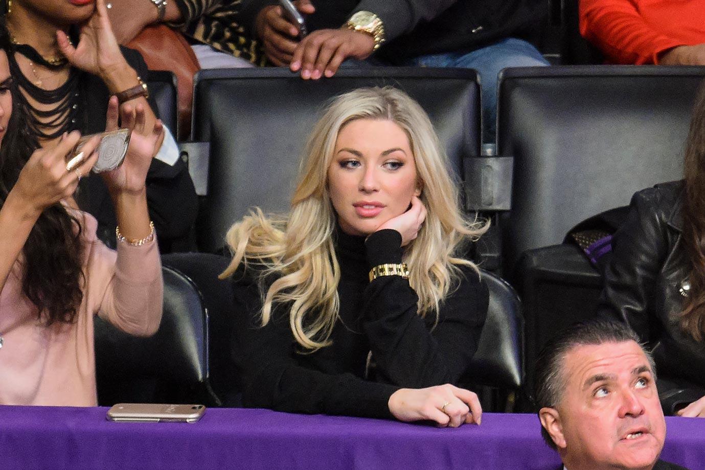 Jan. 28, 2016 — Lakers vs. Bulls at Staples Center in Los Angeles