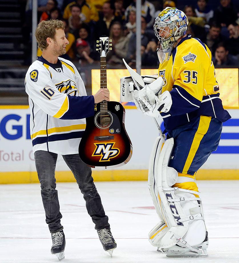 NHL All-Star Skills Competition on January 30, 2016 at Bridgestone Arena in Nashville.