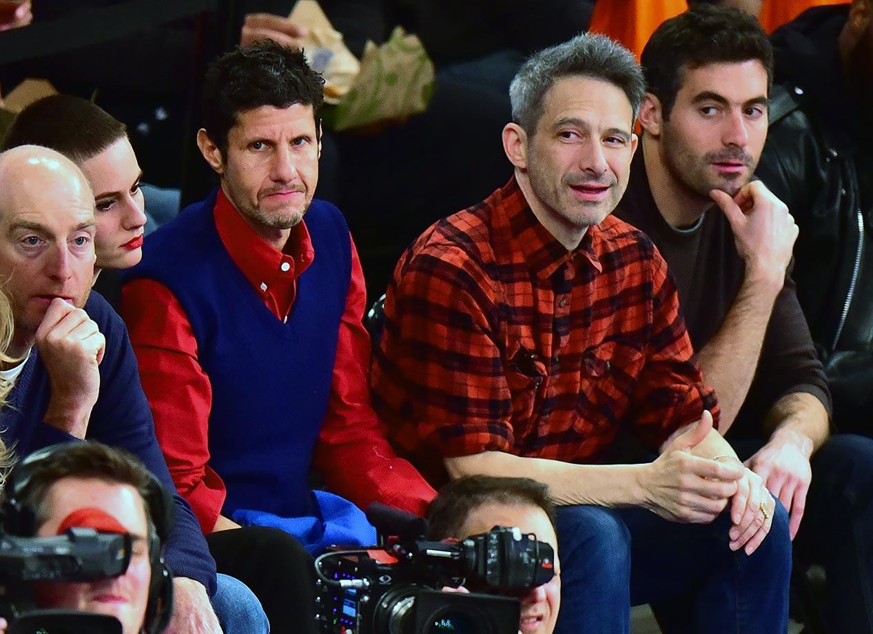Jan. 31, 2016 — Knicks vs. Warriors at Madison Square Garden in New York City