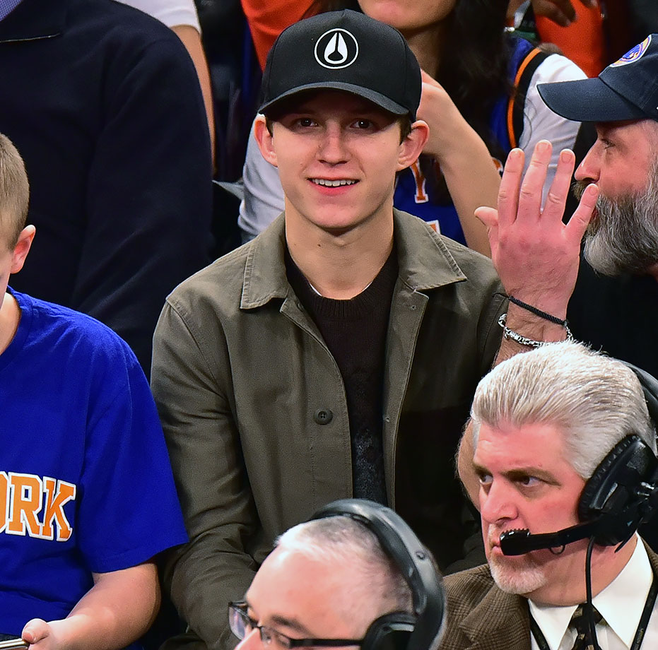 Jan. 31, 2016 — Knicks vs. Warriors at Madison Square Garden in New York City